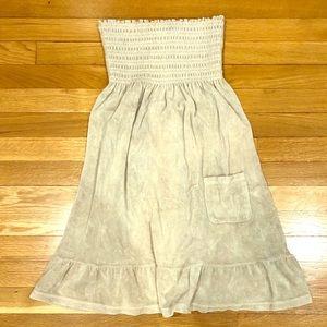 Juicy Couture Terry Cloth Cream Dress Size Medium